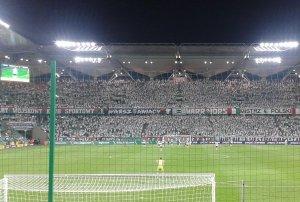 Stadion Pepsi Arena Warszawa, a na trybunach nasi uczniowie