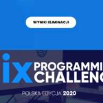 Wyniki PixChallenge 2020